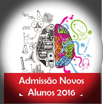 Admissão de Novos Alunos 2016